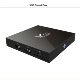 Андроид смарт ТВ приставка x96